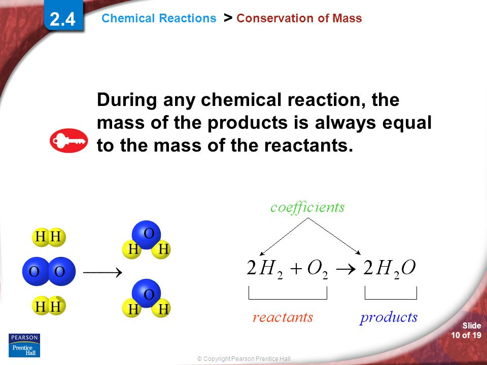 2.4 Conservation of Mass.