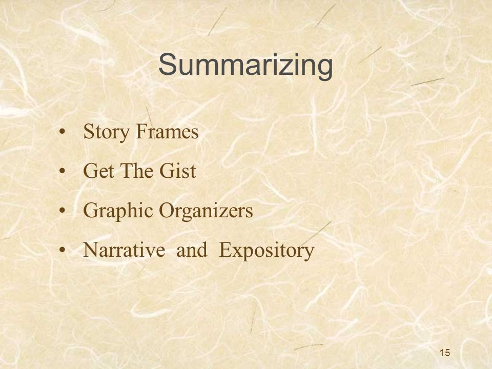Summarizing Story Frames Get The Gist Graphic Organizers
