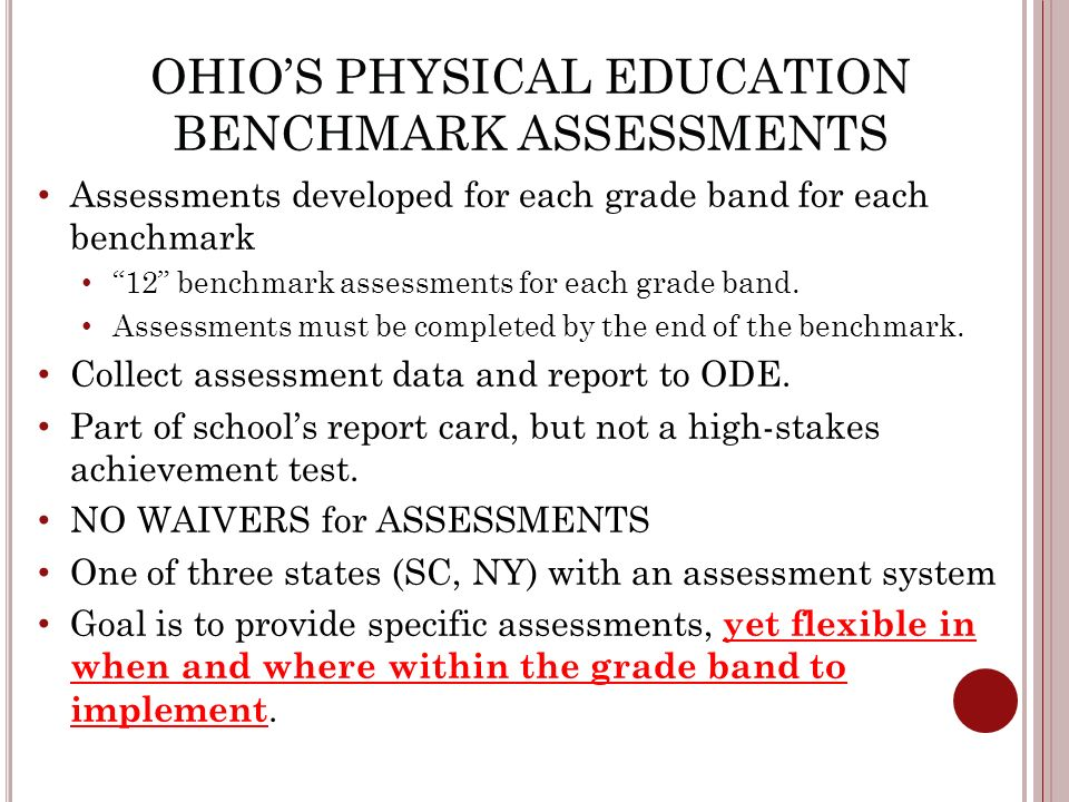 ohio physical education curriculum maps