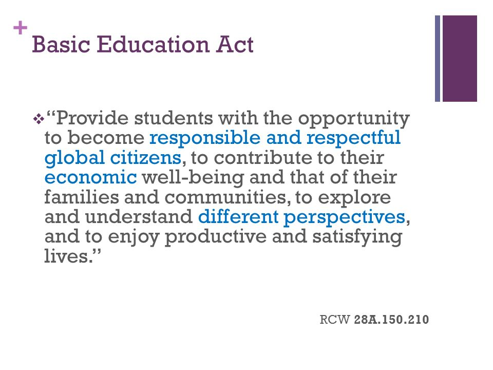 Basic Education Act