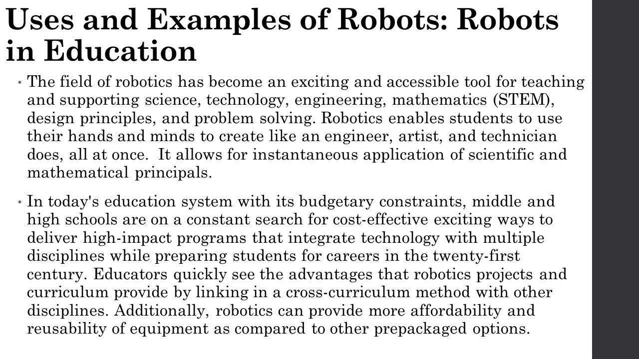 Introduction To Robotics Ppt Video Online Download