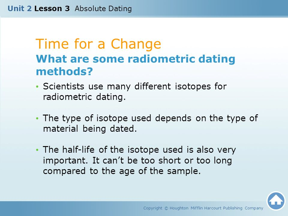 How to teach radiometric dating