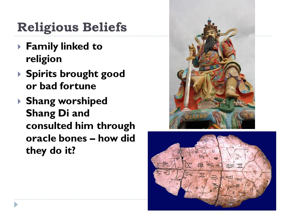 Religious Beliefs Family linked to religion