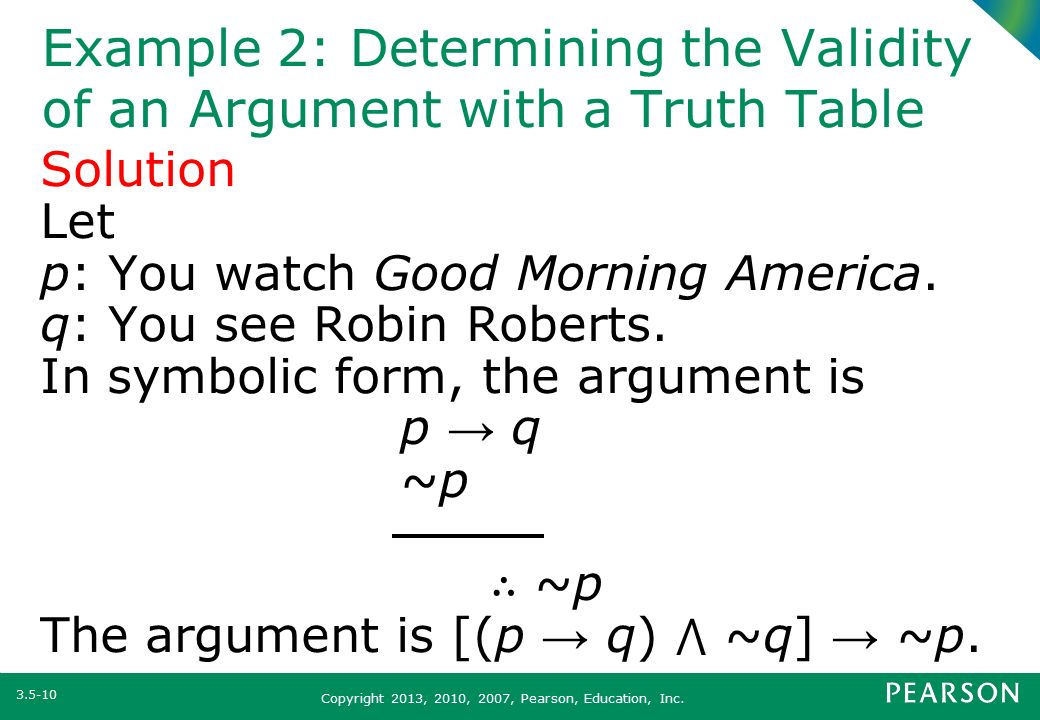 Section 35 Symbolic Arguments Ppt Video Online Download