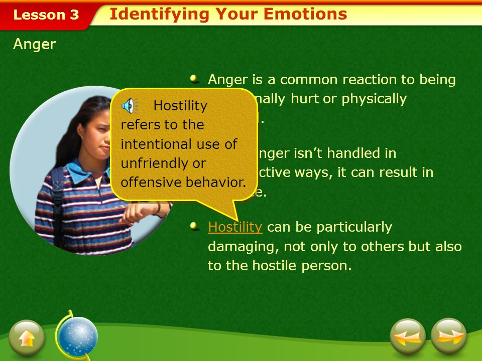Identifying Your Emotions