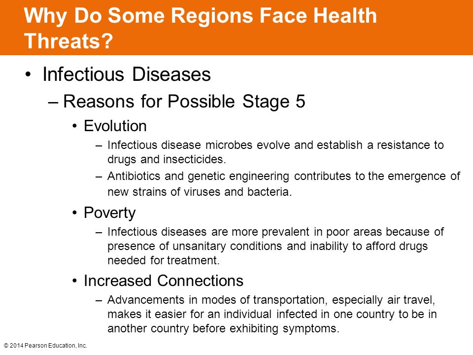 Why Do Some Regions Face Health Threats