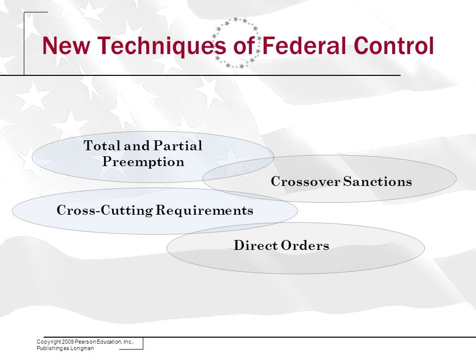 New Techniques of Federal Control