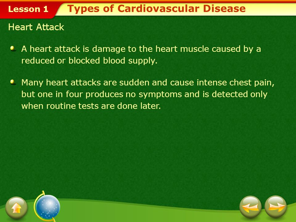 Types of Cardiovascular Disease
