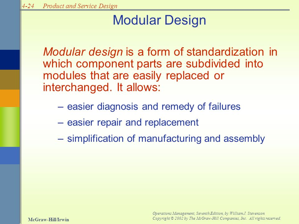Systems Design Part Three Chapter Four Product And Service Design Ppt Video Online Download