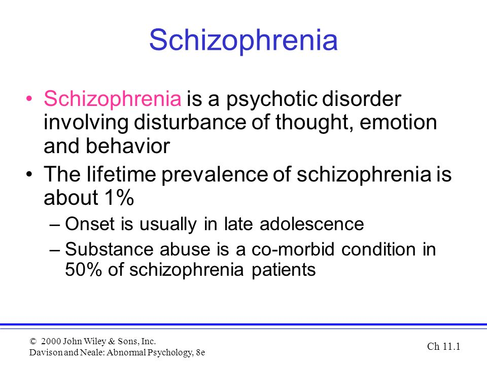 Aqa '15] schizophrenia revision ppt. By findlotte teaching.