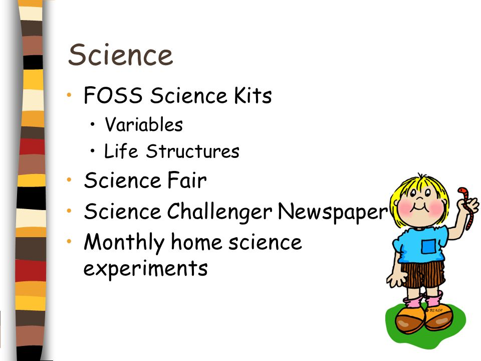 Science FOSS Science Kits Science Fair Science Challenger Newspaper