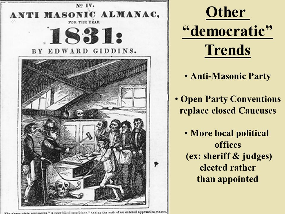 Political Trends Of The Antebellum Era The Rise Of The Common