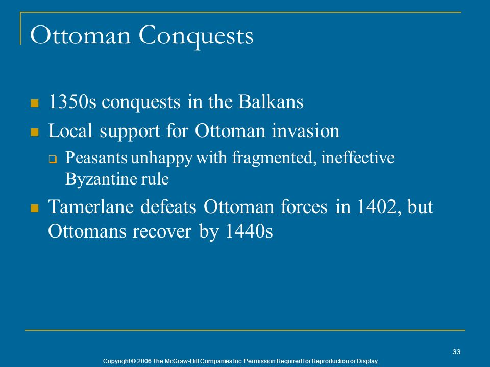 Ottoman Conquests 1350s conquests in the Balkans