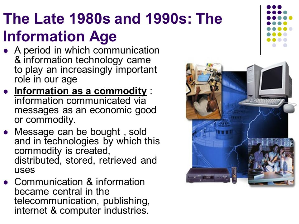 what comes after the information age