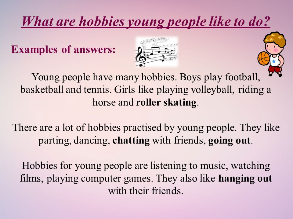 Hobbies for girls