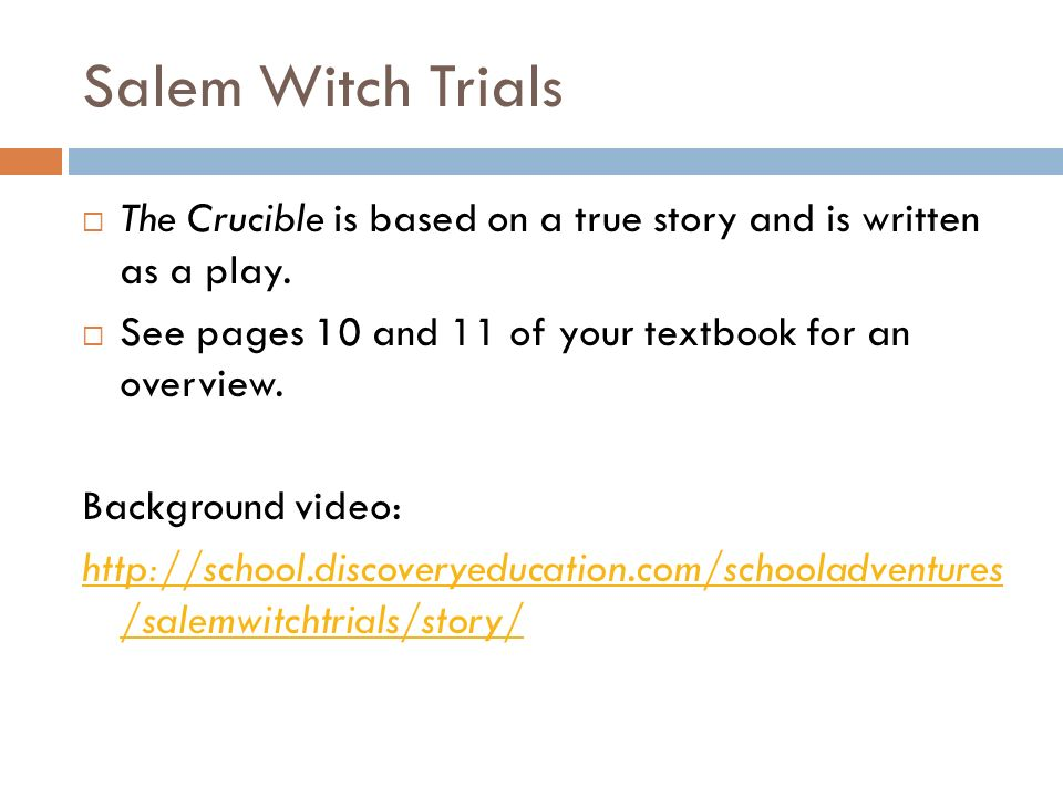 is the crucible a true story