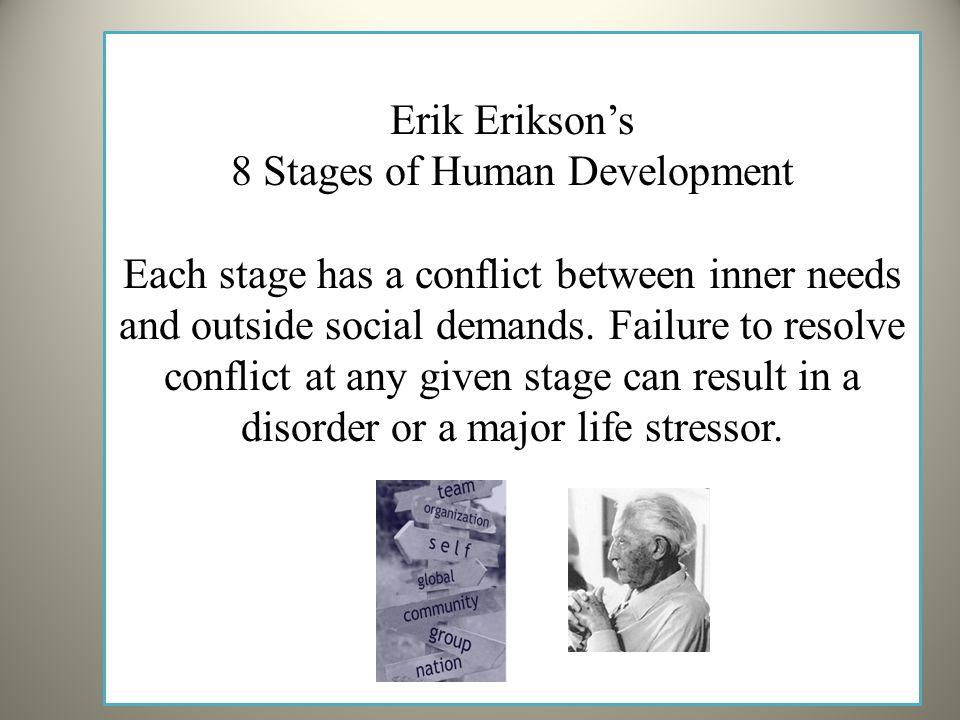 erik eriksons stages of human development