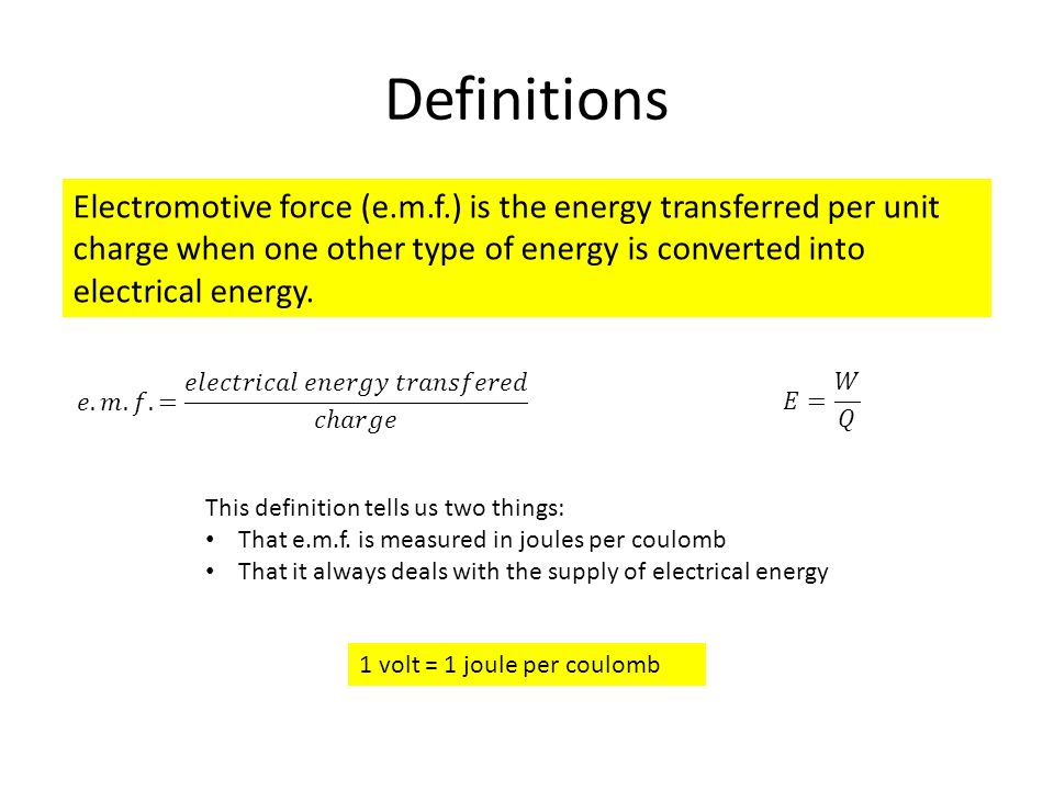 Electromotive Force Symbol Images - free symbol and sign meaning