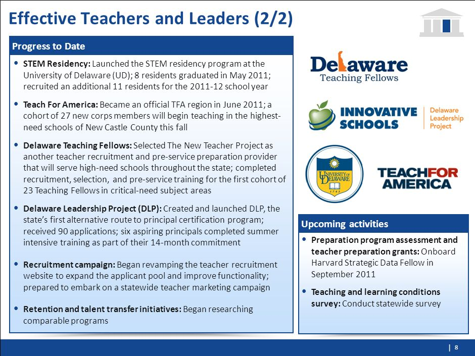 Effective Teachers and Leaders (2/2)