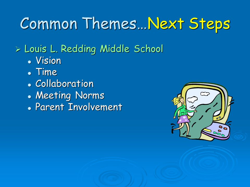 Common Themes…Next Steps