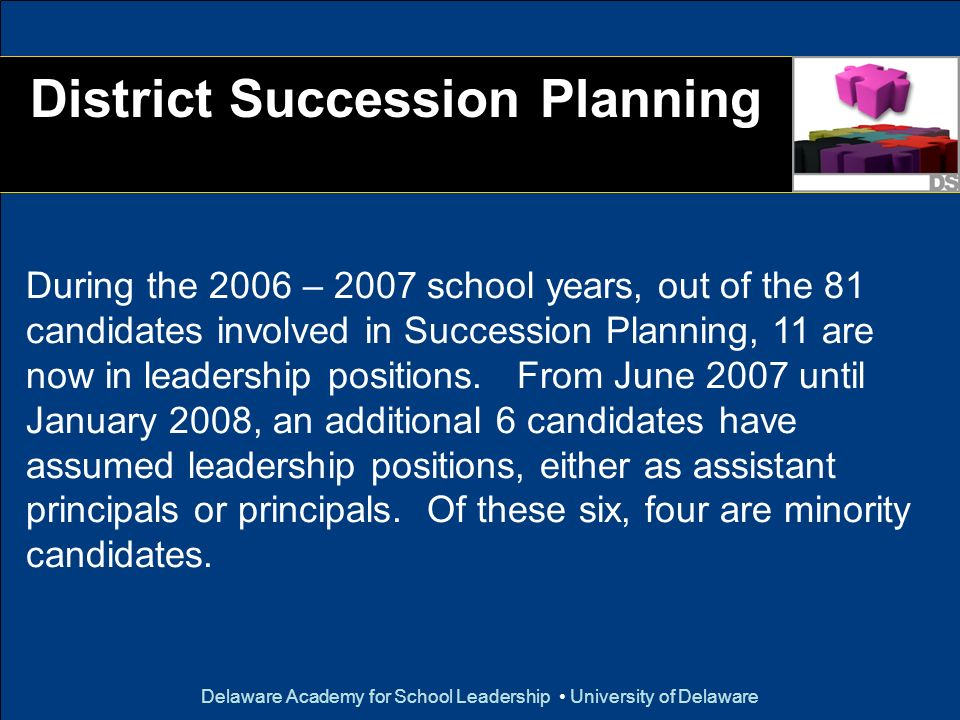 District Succession Planning
