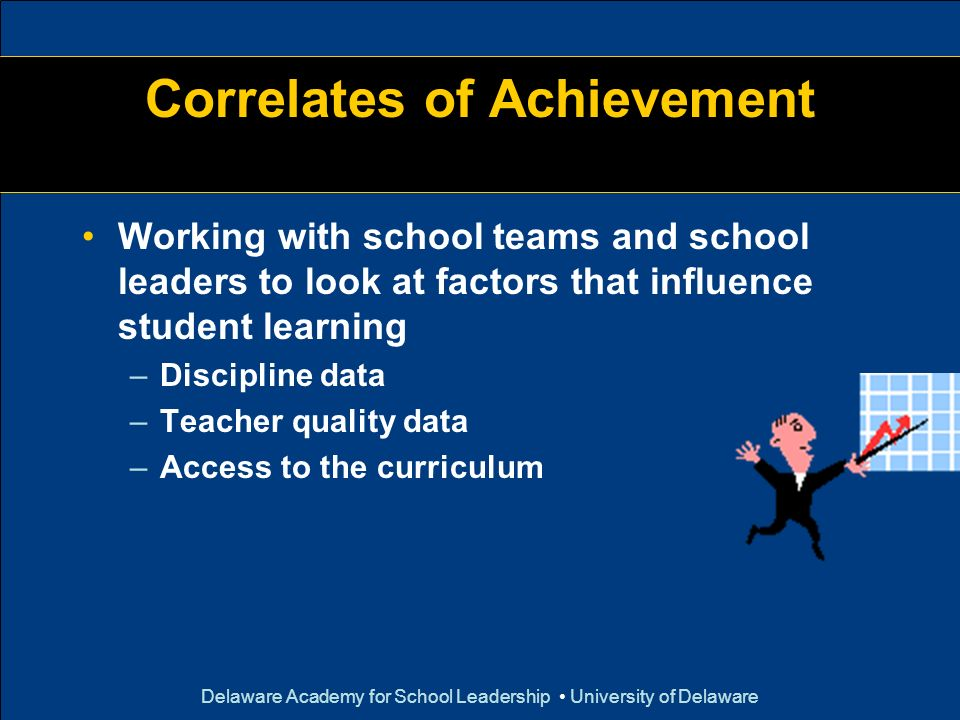 Correlates of Achievement