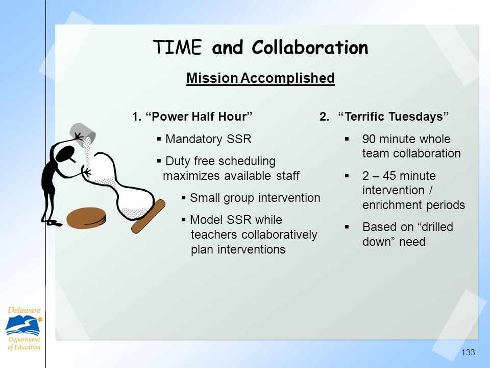 TIME and Collaboration