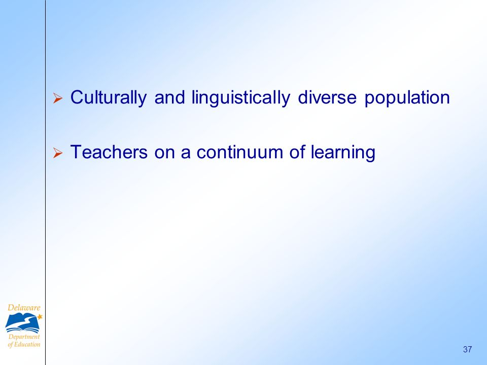 Culturally and linguistically diverse population