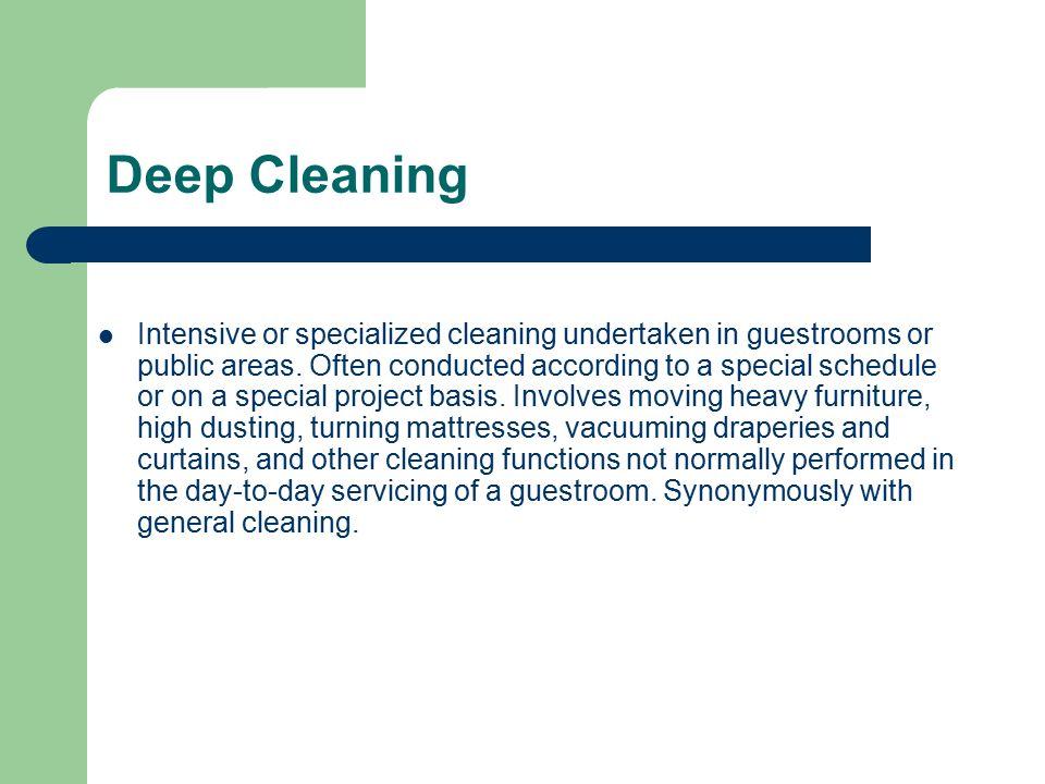 Housekeeping Terminologies - ppt video online download