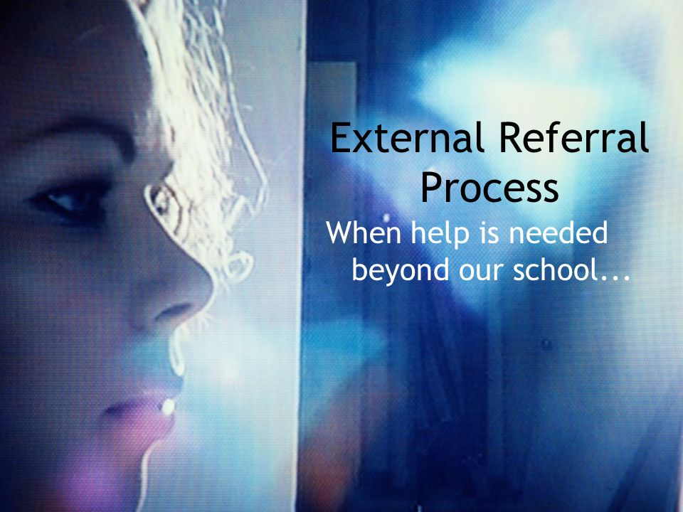 External Referral Process