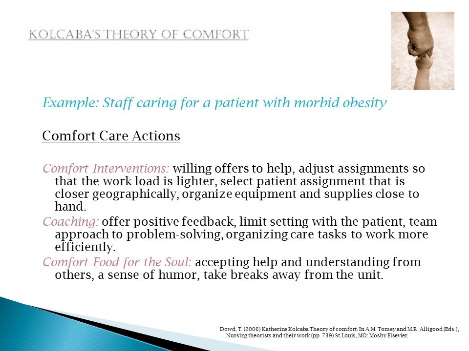 comfort care theory nursing essay example Nursing term papers represents the ultimate source for nursing students struggling to do research for their term papers owned by the unified papers enterprises inc, nursing term papers lists more than 10,000 nursing essays, nursing research papers and nursing assignment covering all major areas of nursing.