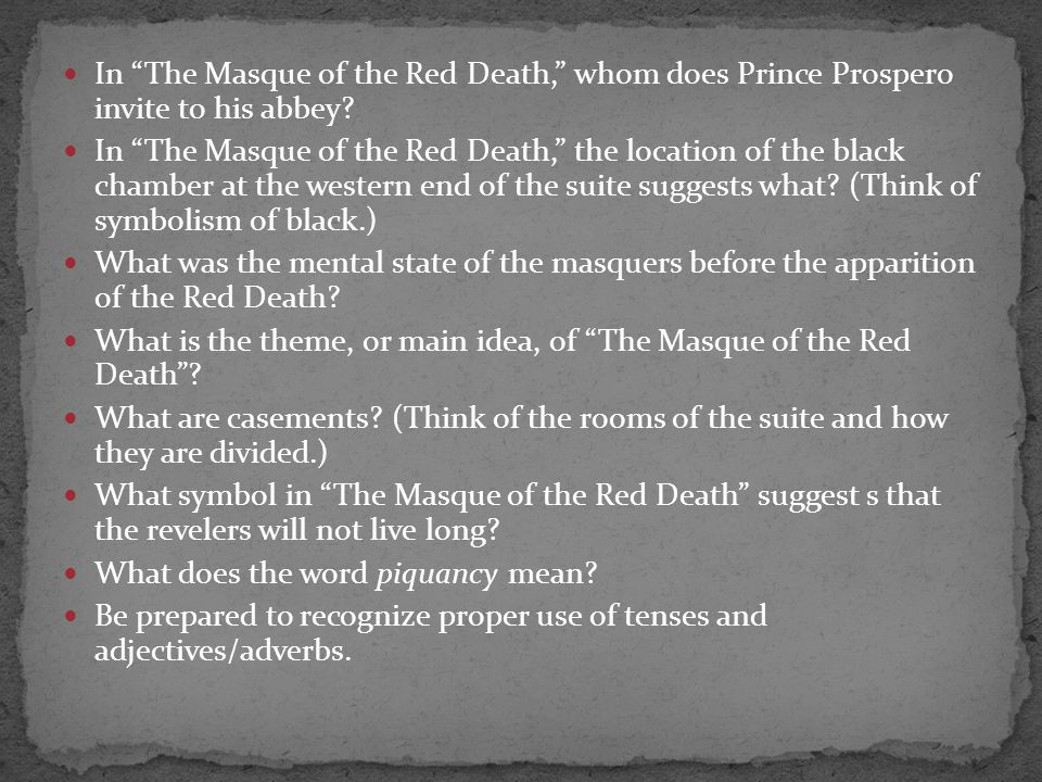 The Masque Of The Red Death Two Friends Damon And Pythias Ppt