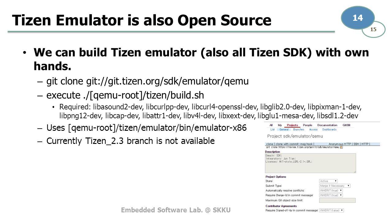 Tizen v2 3 Emulation on PC  - ppt video online download