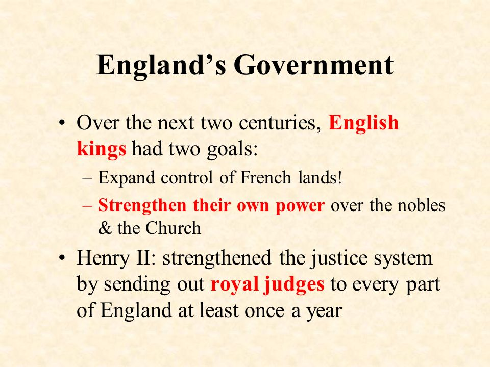 how did henry ii strengthen englands legal system