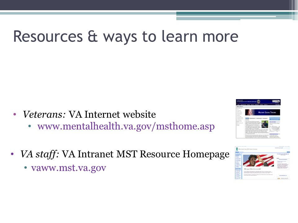 Resources & ways to learn more