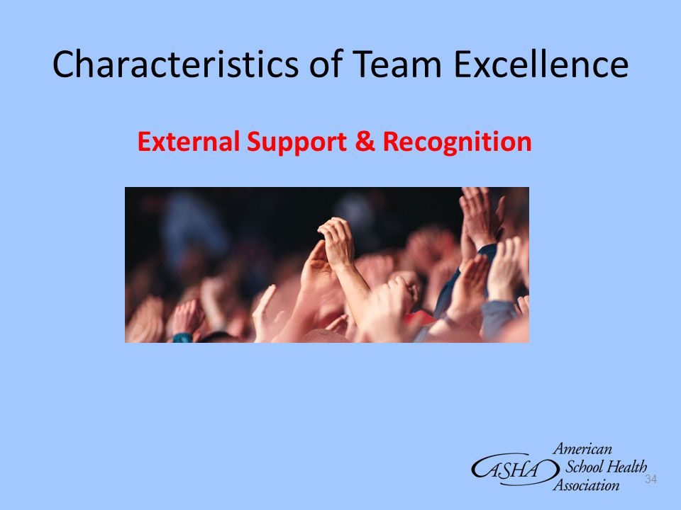 Characteristics of Team Excellence