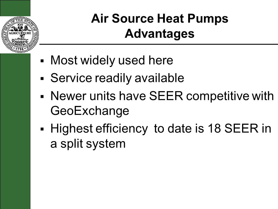 Air Source Heat Pumps Advantages