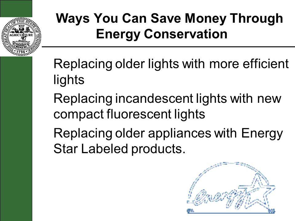Ways You Can Save Money Through Energy Conservation