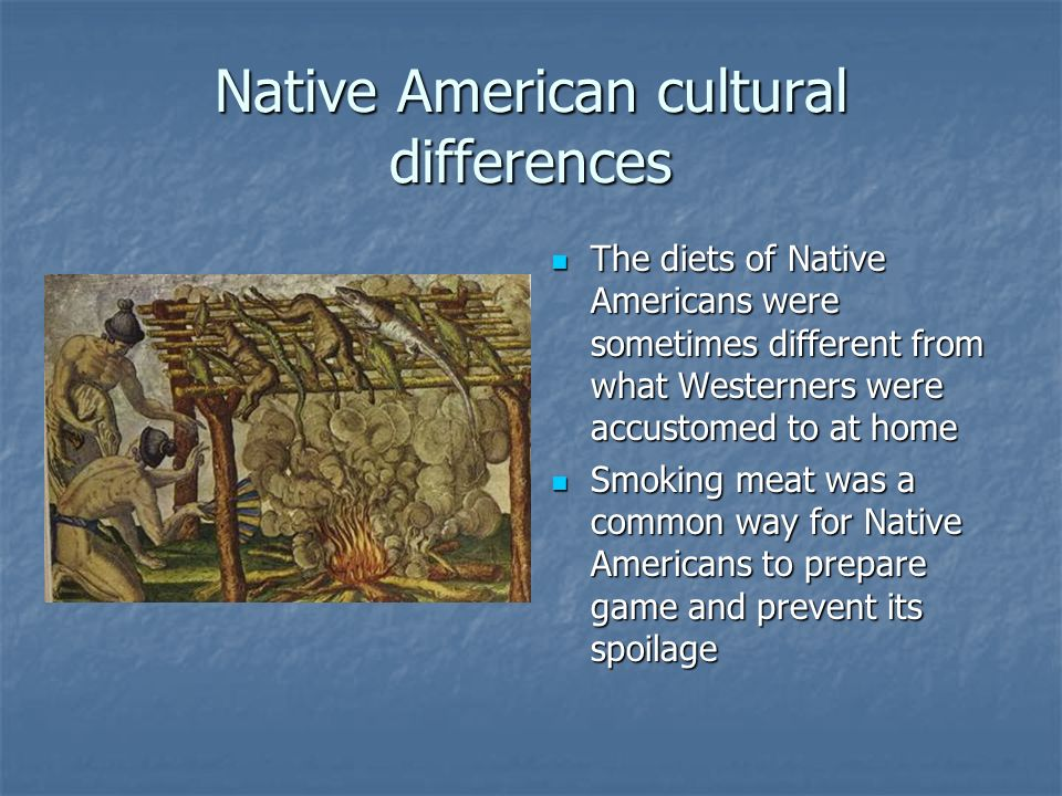 Native American cultural differences