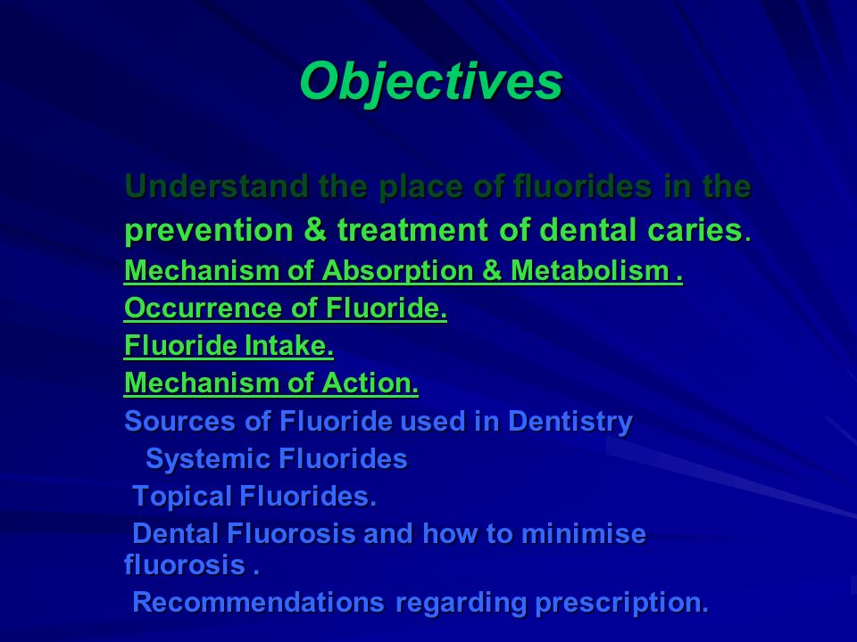 Fluorides And Their Role In Clinical Dentistry Ppt Video Online