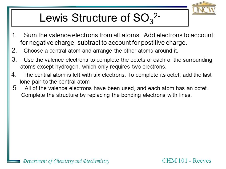Chm 101 Chapter Eight Chemical Bonds Lewis Structures The Octet