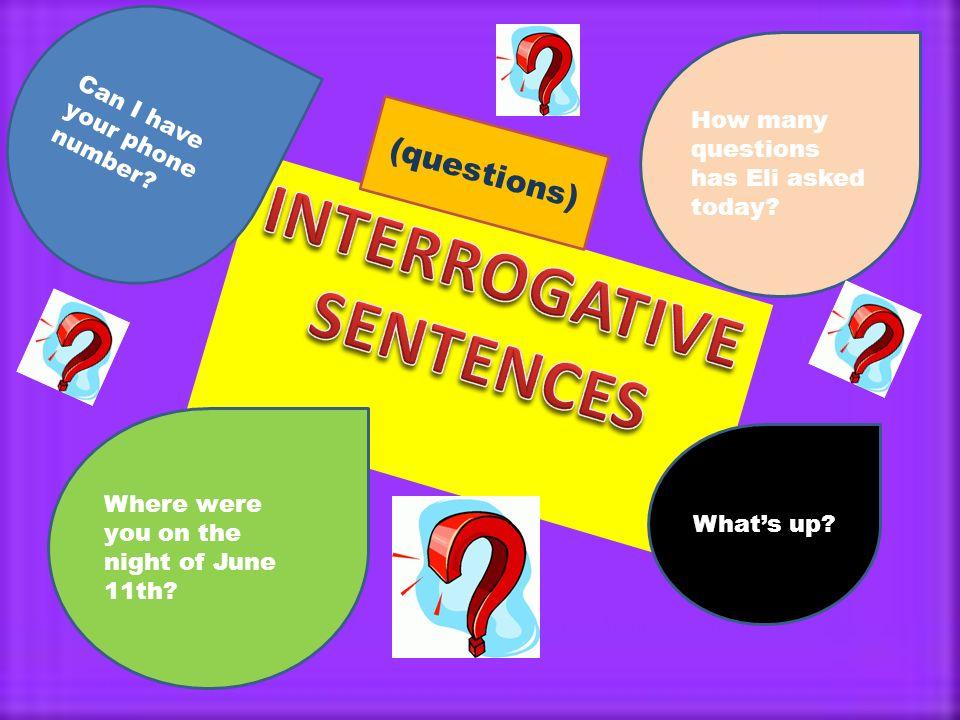 how many types of sentences