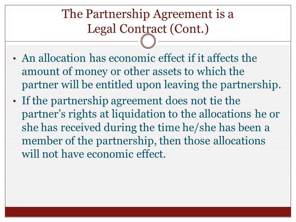 704 c allocations for liquidating partnership