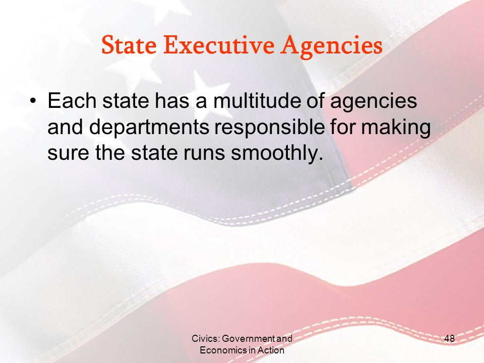 State Executive Agencies