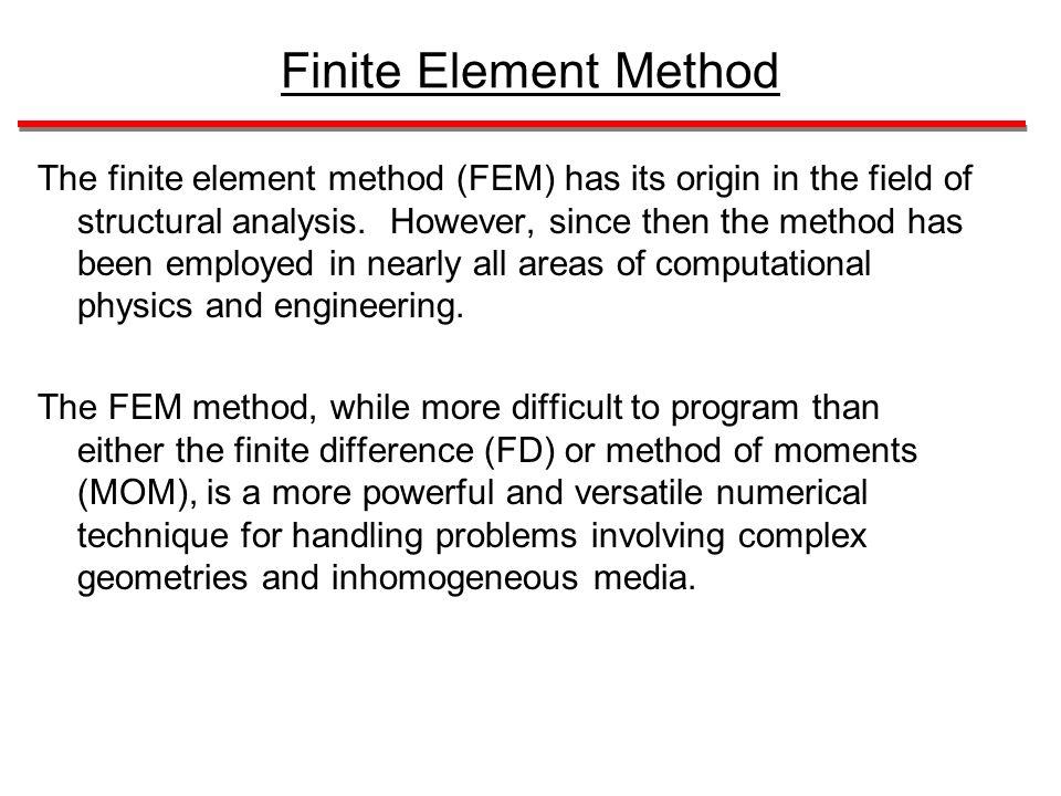 Finite Element Method For Dummies