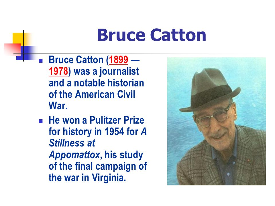 bruce catton grant and lee essay
