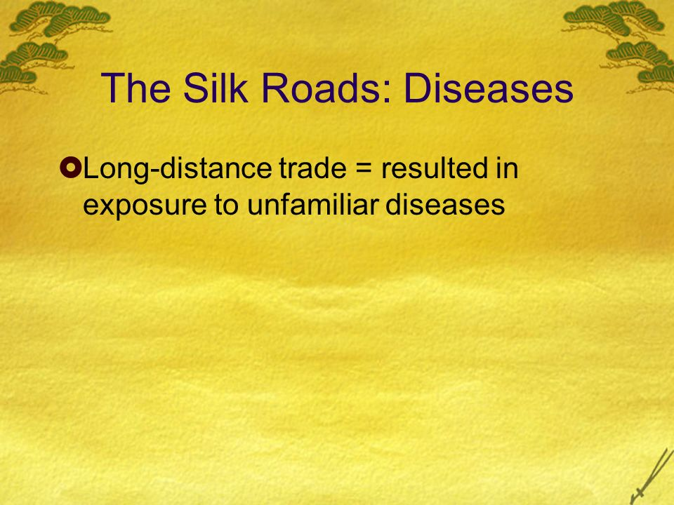 The Silk Roads: Diseases