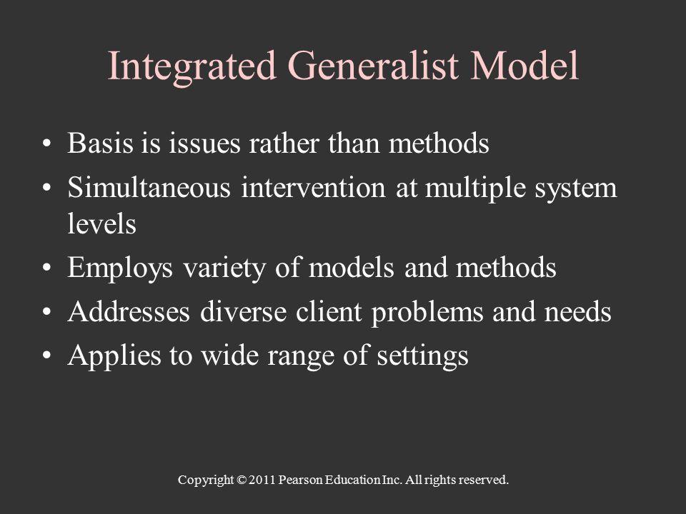 generalist model