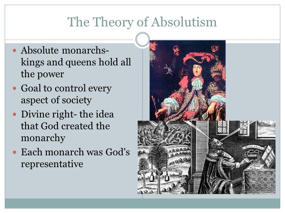 The Theory of Absolutism