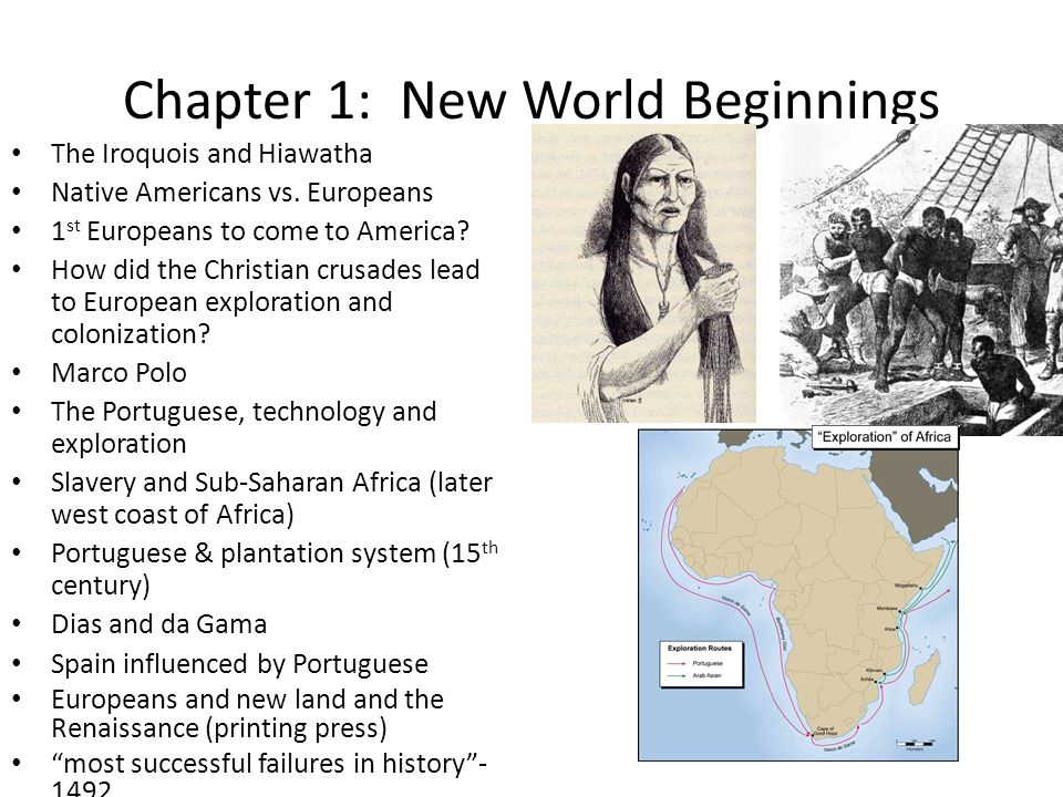 Chapter 1: New World Beginnings